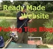 Thumbnail Money Making Fishing Tips Blog Niche Website