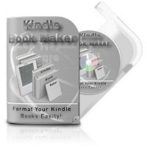 Product picture Kindle Book Maker Software  comes W/ Master Resale Rights