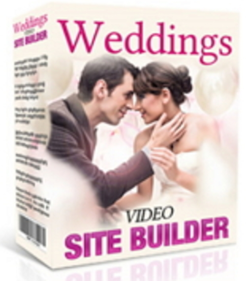 Product picture Weddings Video Site Builder  MRR/Giveaway Rights