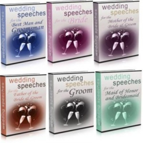 Product picture Wedding Speeches Package