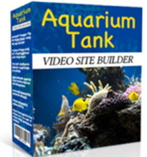 Product picture Aquarium Tank Video Site Builder MRR/Giveaway Rights