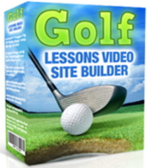 Product picture Golf Lesson Video Site Builder MRR/Giveaway Rights
