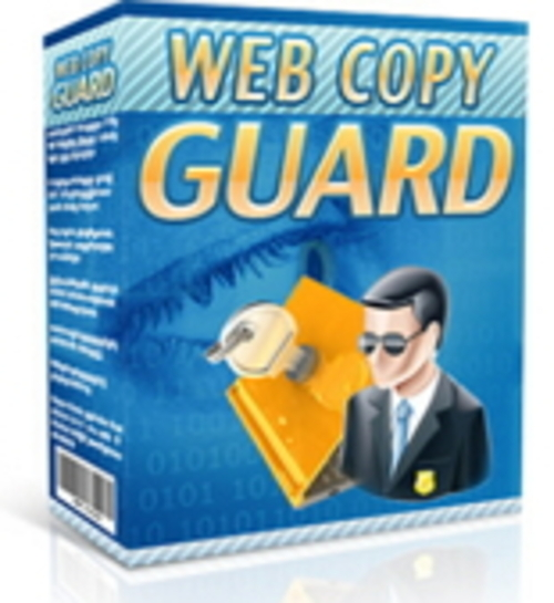 Product picture Web Copy Guard MRR/Giveaway Rights