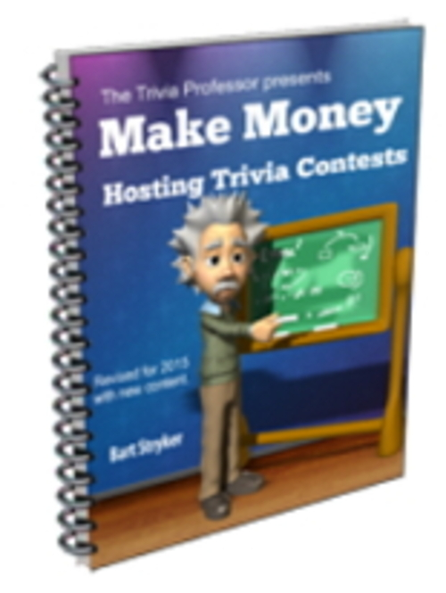 Product picture Make Money Hosting Trivia Contests