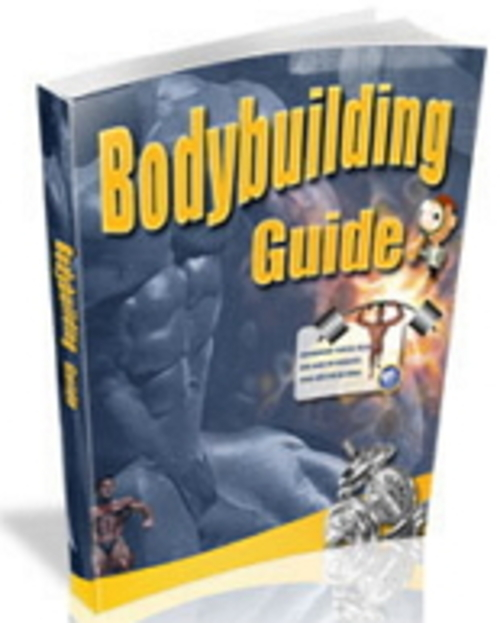 Product picture Body Building Guide  MRR/Giveaway Rights